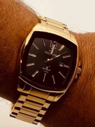 Imperdível Relógio Technos Golf Masculino luxo  dourado  novo