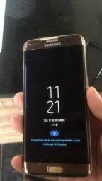 Título do anúncio: Celular para Retirada de Peças - Galaxys S7 Edge Dourado