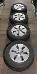 Roda Volkswagen aro 14 com pneu novo