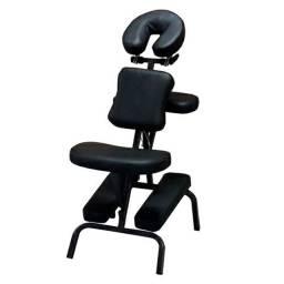 Cadeira Para Massagem Shiatsu Preta Com Saco CS30<br><br>