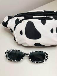 Título do anúncio: Pochete e óculos vaca