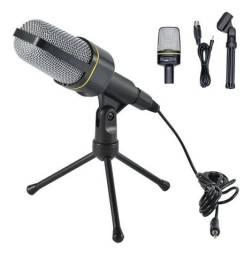 Microfone Condensador Multimídia Youtuber Gravações de vozes Instrumentos acústicos
