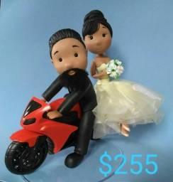 topo de bolo de casamento personalizado por fotos do cliente