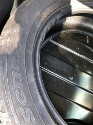 225/60/18 2 Pirelli scorpion semi zero e 1 Pirelli P7 zero nunca rodo