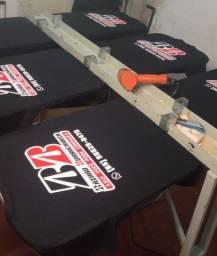 Título do anúncio: Fardamentos em serigrafia camisa algodão fio 30 com estampas duráveis
