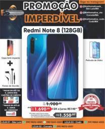 "Celular Xiaomi Redmi Note 8 128 Global 128gb Azul Lacrado"""
