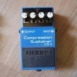 Pedal CS-3 Boss (compressor sustainer)