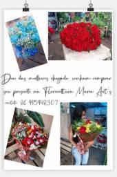 Flores para o dia das mulheres