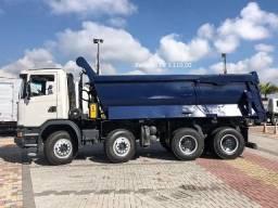 Scania G440 8x4 2018 com Caçamba Rosetti com Serviço entrada +parcelas-particular