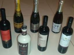 Conjunto de Vinhos e Espumantes