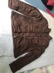 Casaco/jaqueta marrom