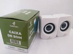 Caixa de Som Multimídia 6 Watts USB 2.0 Goldenultra