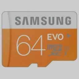 Cartão de memória 64GB