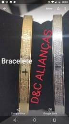 Bracelete banhado