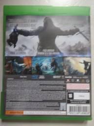 Jogo para XBox One: Sombras de Mordor