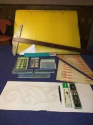 Material para alunos de projetos de arquitetura e decoracao usados