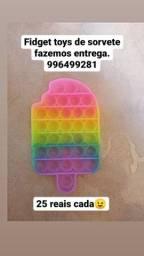 Título do anúncio: Fidget toys de sorvete