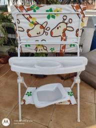 Suporte trocador bebê luxo Galzerano girafa