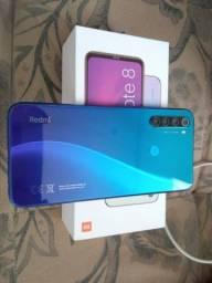 Celular Xiaomi Note 8 + Pulseira Xiaomi Mi Band 5