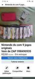 Nintendo ds semi novo