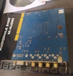 Placa de Áudio M-Audio Audiophile 2496