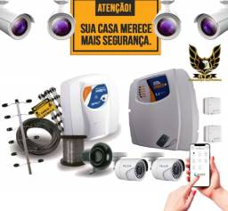 Câmeras, Alarme e Cerca Wi-Fi:Monitore sua casa/comércio pelo celular!