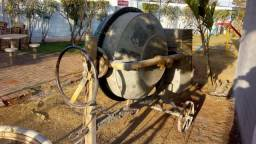 Betoneira reforçada motor forte