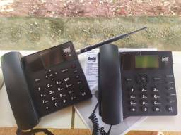 Telefones Rural com antena (pouco uso)