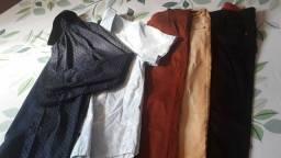 Calças e camisas sociais