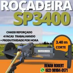 Roçadeira Avaré Inroda SP 3400 c/ 4facas e Cardan