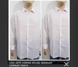02 CAMISAS SOCIAIS por 100,00