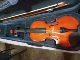 Título do anúncio: Violino Vivace 4/4, 3 meses de uso apenas ACEITO PROPOSTA