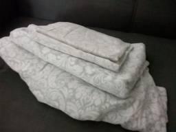 Jogo de lençol cama casal king
