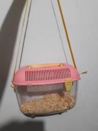 Vendo gaiola de transporte pra hamster