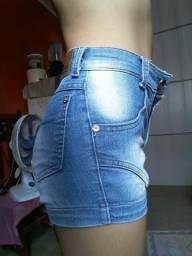Shost Jeans Cintura alta meio azulado $35