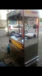 Vende-se um carrinho inox grande de churros