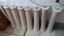 7 Colunas e pias da Celite
