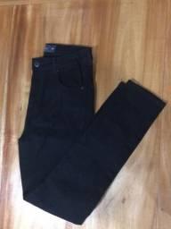 Calça Pool jeans preta tamanho 40 feminina