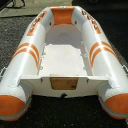 Bote inflável bom para apoio pesca - 2018