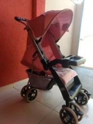 Carrinho de Bebê - Rosa