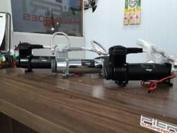 Compressores suspensão a ar Flow e HKI