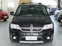 Dodge Journey SXT 3.6 aut. multimidia + couro + 8 air-bags preta - 7 lugares - 2013