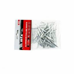 Rebite de Alumínio Pacote com 50 Pecas 4,0 X16mm