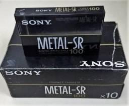 Fita K7 Cassete Sony Metal-sr 100 Type Iv Metal 70us Eq   WhatsApp: (51) 9 8289-4480 comprar usado  Porto Alegre