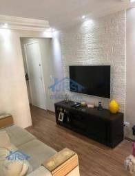 Apartamento com 2 dormitórios à venda, 48 m² por R$ 209.000,00 - Jardim São Luiz - Jandira
