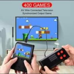 Vídeo Game Portátil Console 400 jogos