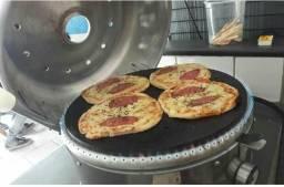 Vendo forno de pizza redonda
