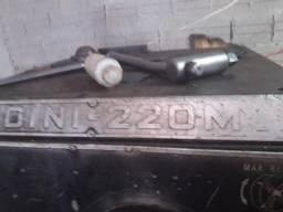 Torno Nardini 220v embarramento 1,80