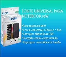 Fonte Universal Para Notebook 90w Elgin