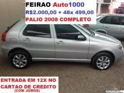 Palio 1.0 4P. Completo 2008. R$2000,00 + 48x 499,00 - 2008